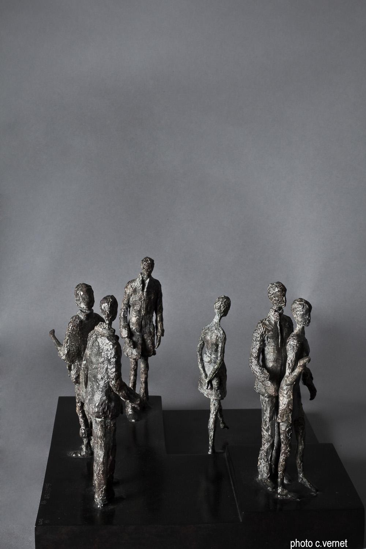 sculpture Christine Guillemin,Photo c.vernet